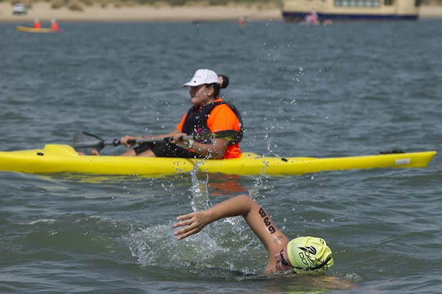 Desafío Doñana natación