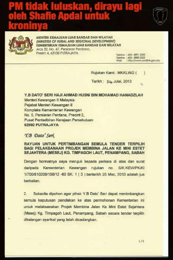 Seleweng Dana RM1.5b: Tidak Timbul Persoalan Pendakwaan Berpilih