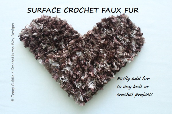 baby, Bernat Boa, crochet, eyelash, furry, Furry Fingerless Gloves, hood, how to, pattern, surface crochet, tutorial, Yarn