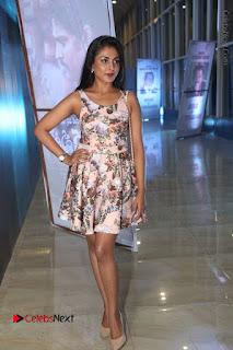 Actress Madhu Shalini Stills in Floral Short Dress at RGV Shiva to Vangaveeti Event  0170.JPG