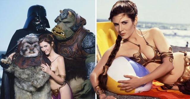 Celebramos el Día de Star Wars con fotos de Leia en bikini