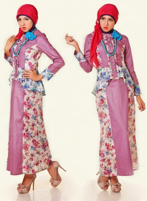 model long dress muslimah terbaru