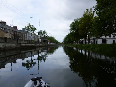 Kayaking on the Grand Canal in Dublin