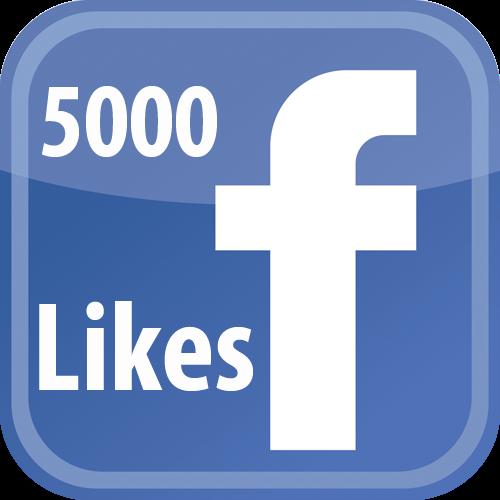 Buy 5000 Facebook FanPage Likes