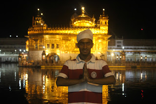 Cover Photo: Visit to the Golden Temple