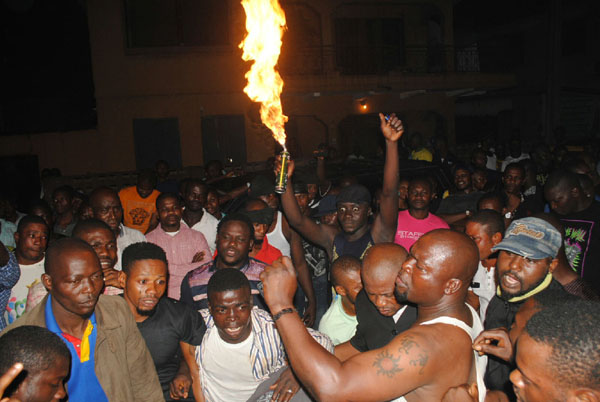 oshodi boys candle light vigil