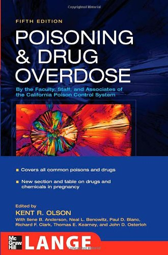 Poisoning And Drug Overdose, 5th edition