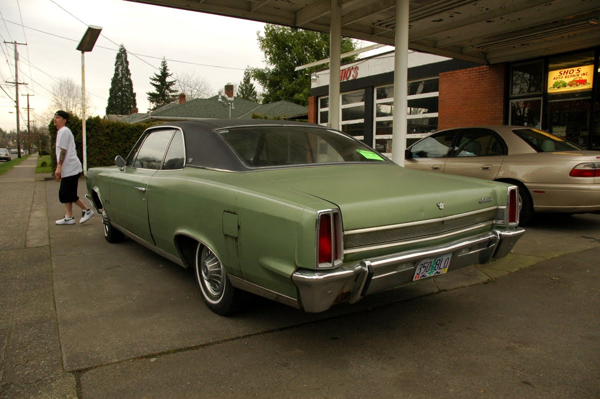 Old Parked Cars Revisited 1967 Amc Ambassador Dpl Hardtop