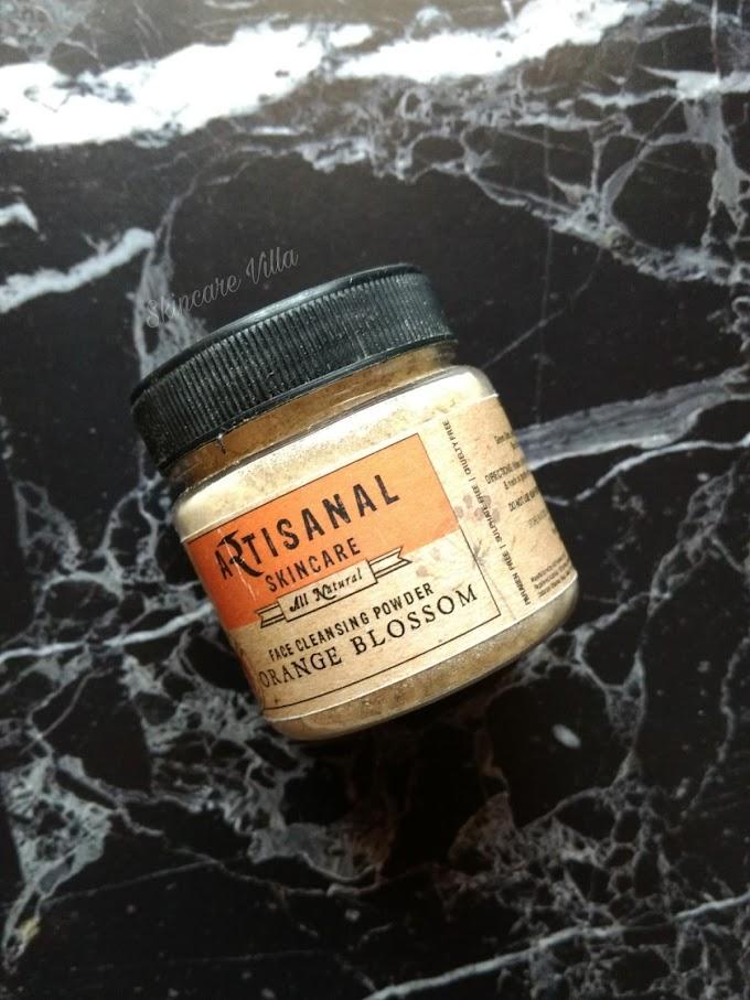 Artisanal Skincare Orange Blossom Face Cleansing Powder Review