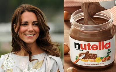 Kate Middleton guna nutella
