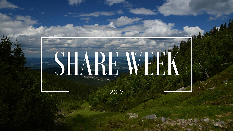 Share Week 2017 Blogerzy polecają blogerów