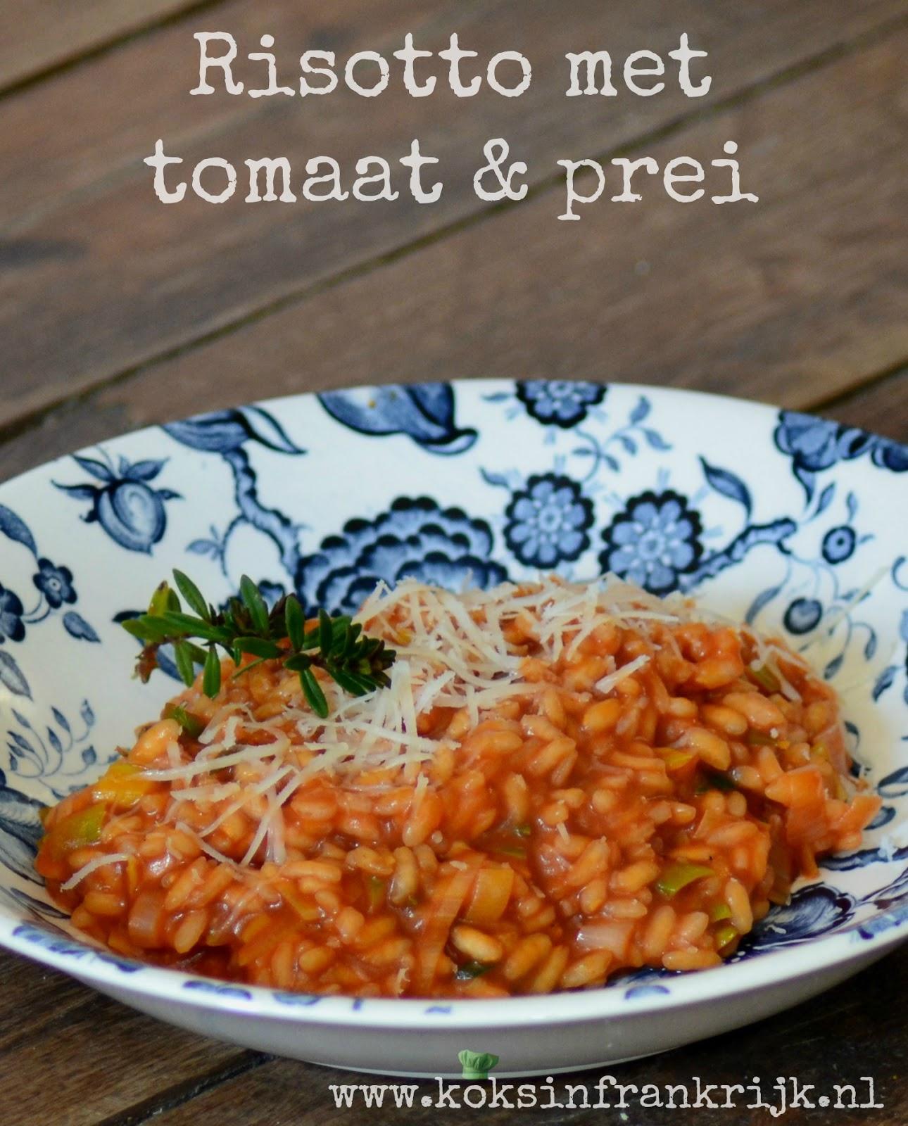Vegetarisch. Zelf risotto maken zonder pakje.