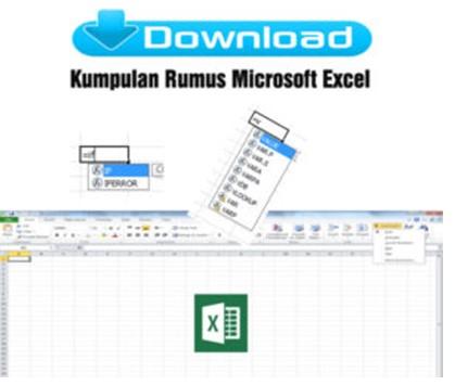 Download Kumpulan Rumus Microsoft Excel untuk Guru Sekolah