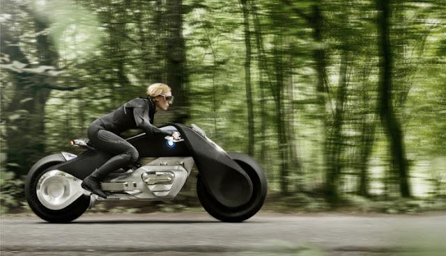 دراجة المستقبل النارية من بي إم دبليو Vision Next 100