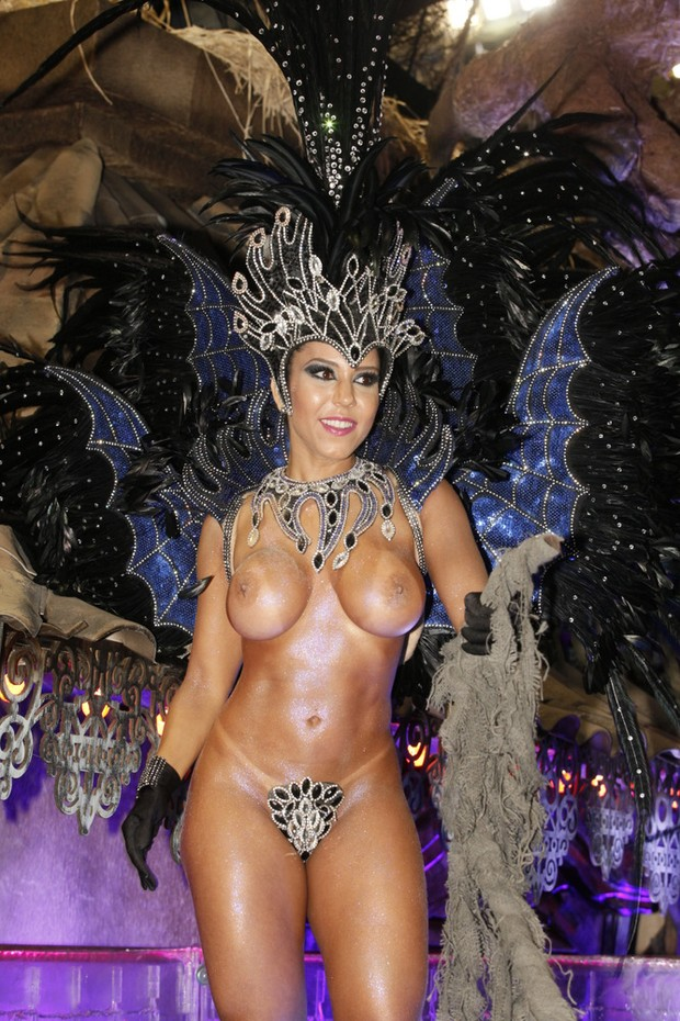Renata Frisson (Mulher Melão), Rio Grande Parade 2014