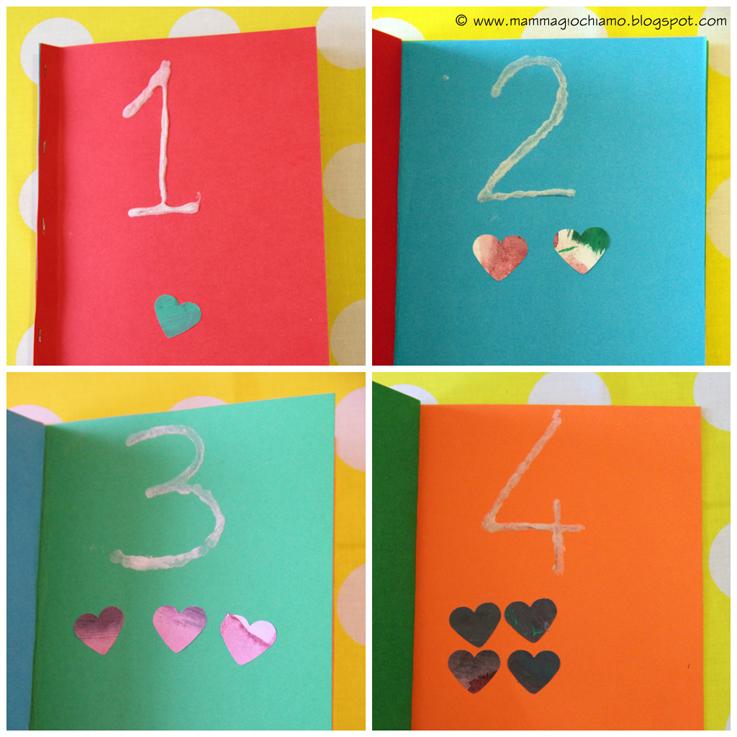 Top MammA GiochiaMo?: Libro tattile dei numeri fai da te (e la lavagna  NR05