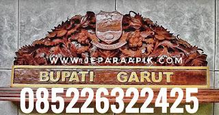 papan nama bupati garut