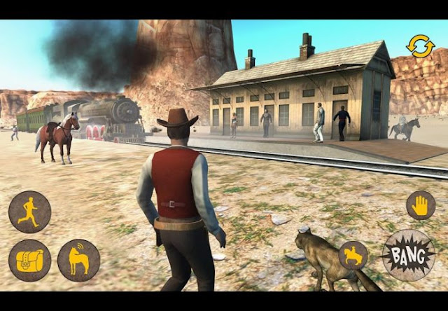 Western Two Guns Sandboxed