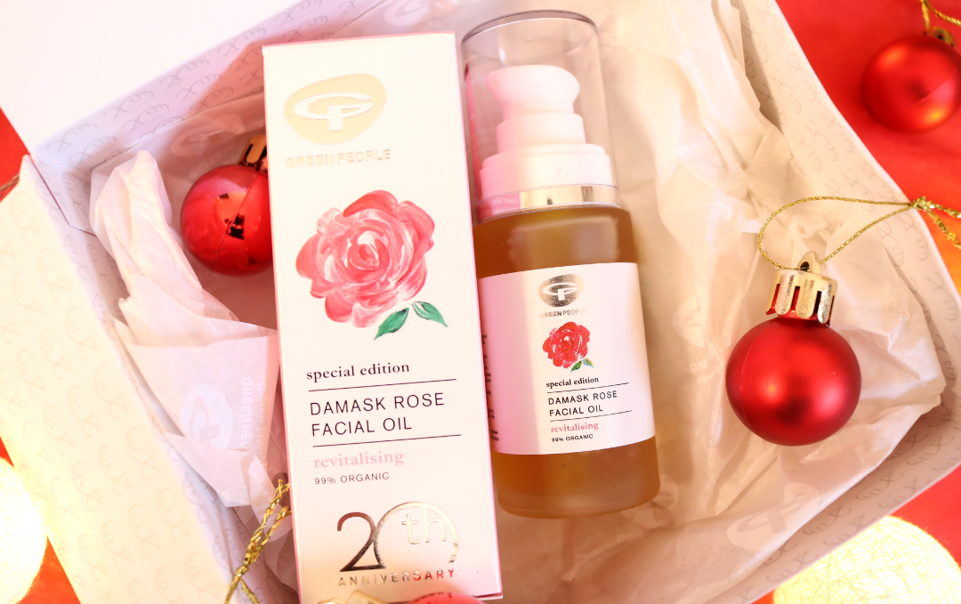 Green People Damask Rose Facial Oil review