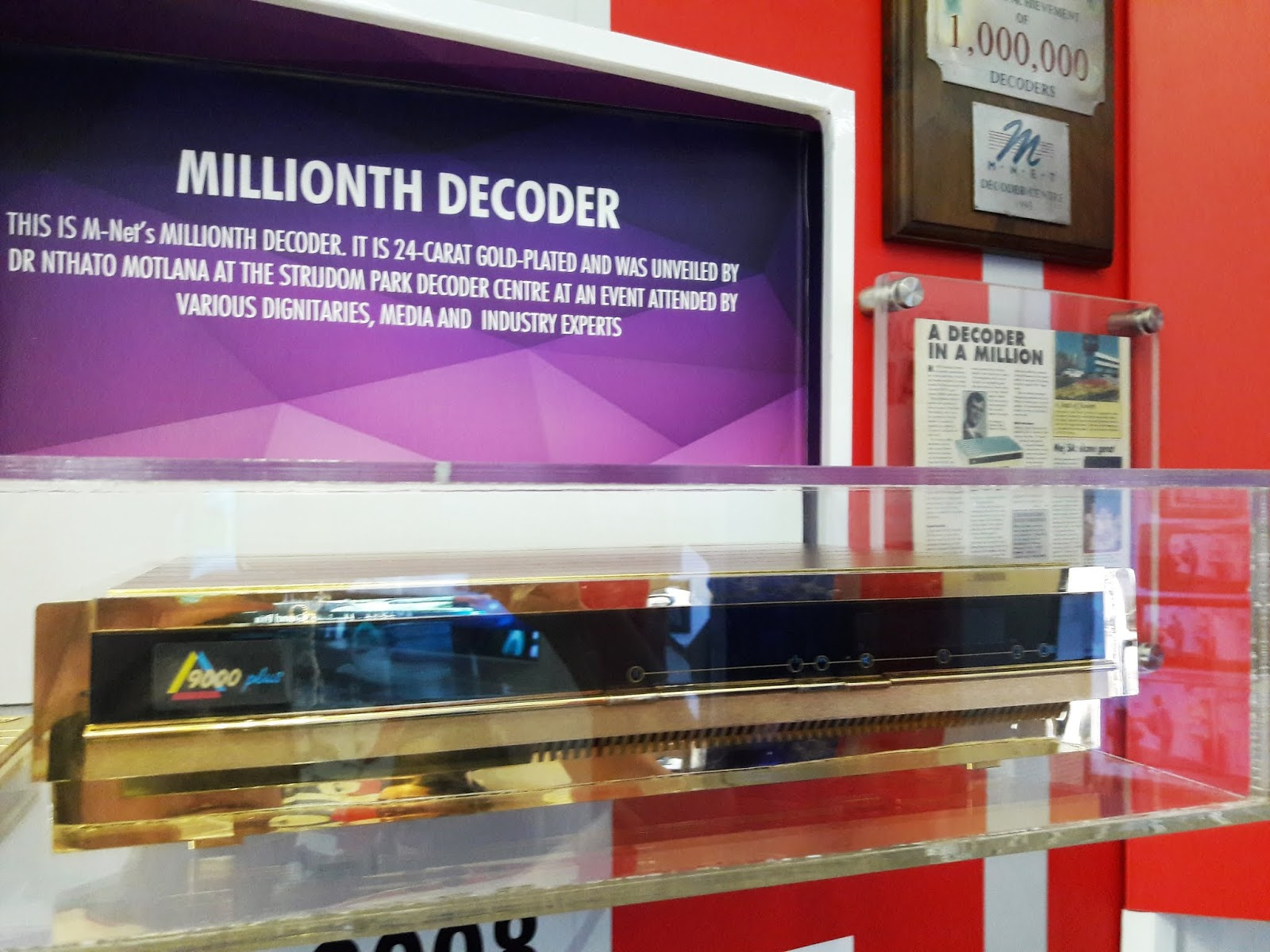 TV with Thinus: There's an amazing M-Net golden decoder locked in a