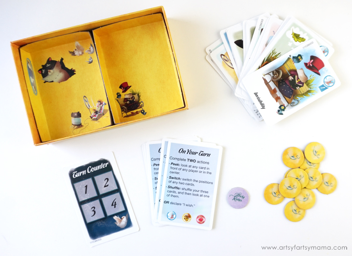 Play Tricky Wishes for Family Game Night with Hasbro Gaming Crate #HasbroGamingCrate