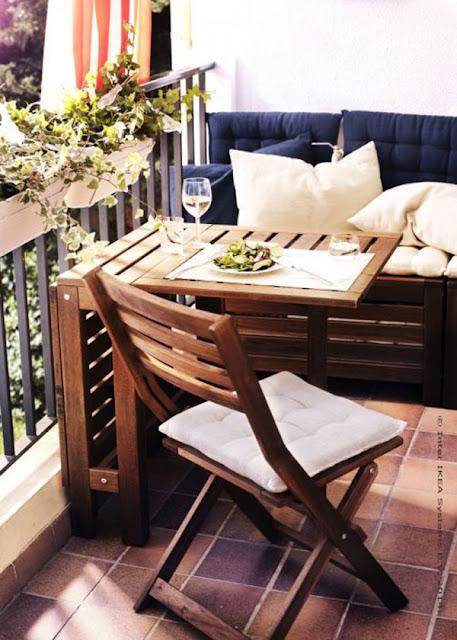 balcon salle à manger