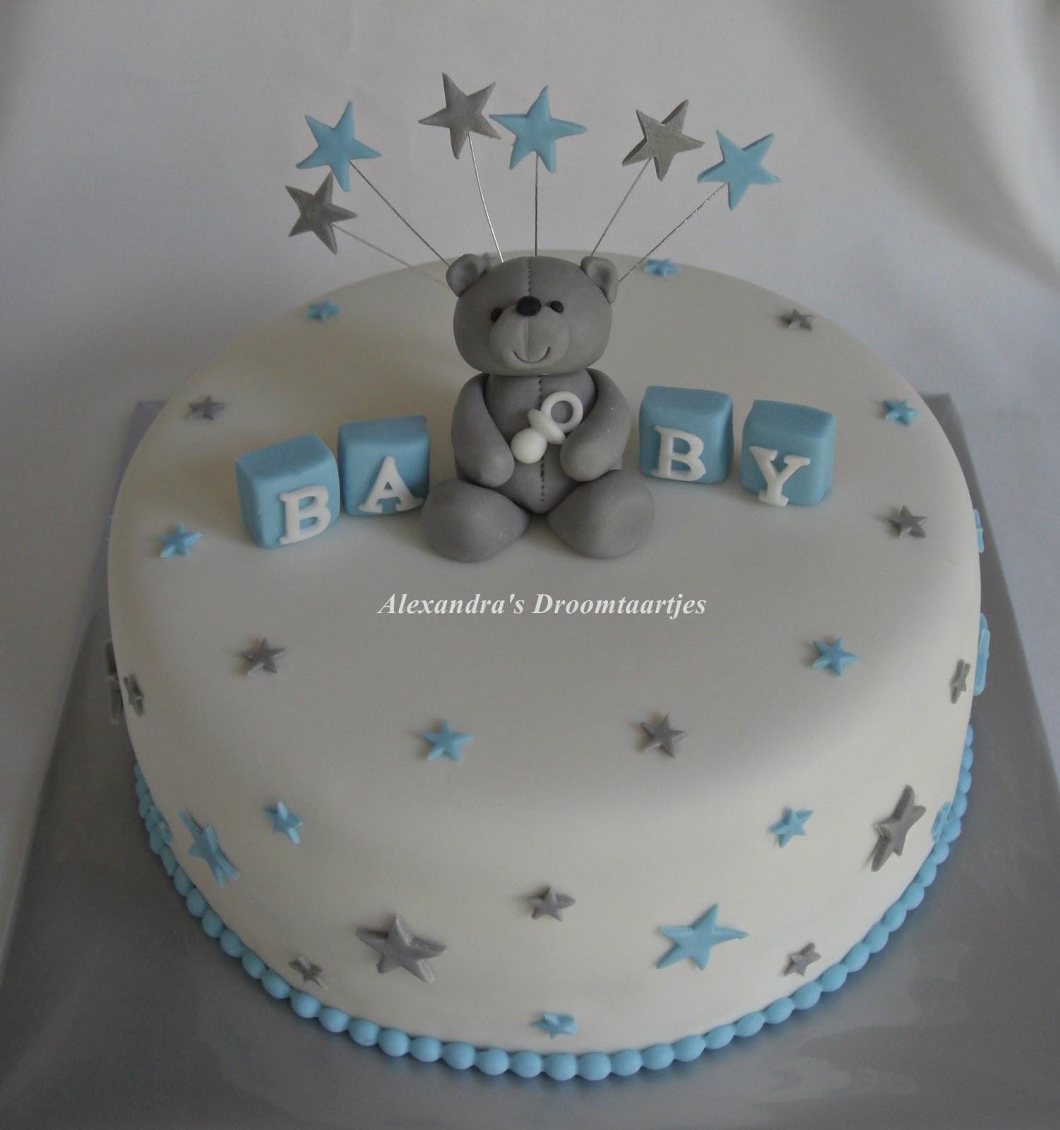 babyshower taart Babyshower taart jongen | Alexandra's droomtaartjes babyshower taart