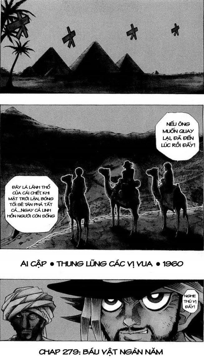 YUGI-OH! chap 279 - báu vật ngàn năm trang 1
