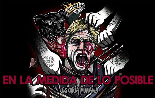 """Eskoria Humana stream new song """"En la Medida De Lo Posible"""""""
