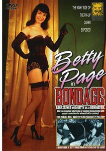 Betty Page In Bondage DVD