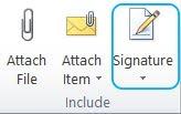 mail signature