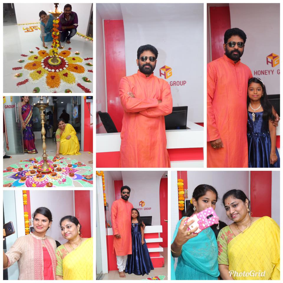 Diwali Festival in Honeyy Group Branches