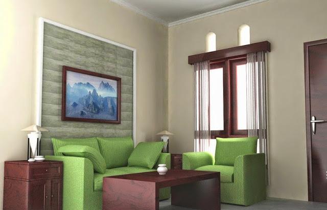 foto ruang tamu minimalis sederhana