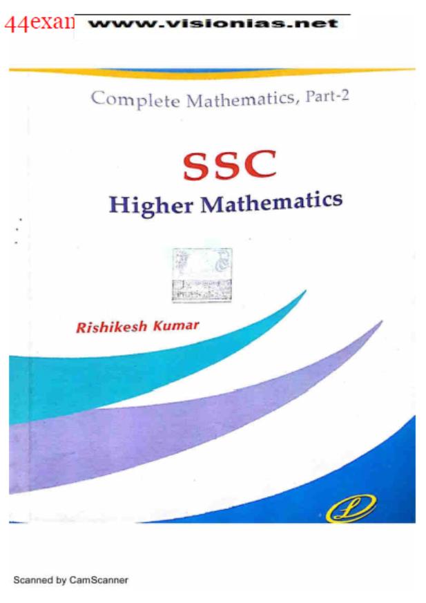 Lucnet's SSC Higher Mathematics : For SSC Exam PDF Book
