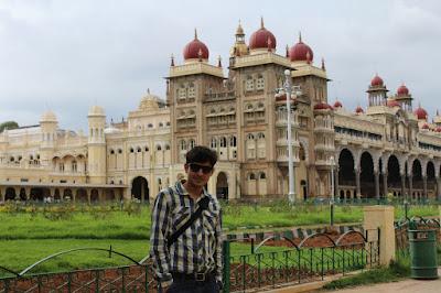 Rishabh Datta in Mysore Palace