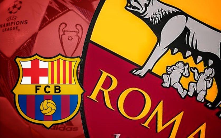 Dove Vedere BARCELLONA-ROMA Streaming Diretta Live Online | Calcio Champions League