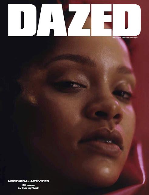 Rihanna Looks 'Dazed' As She Covers Dazed Magazine's Latest Issue