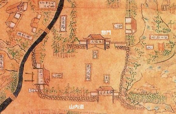 鎌倉遺構探索: 建長寺伝延宝図