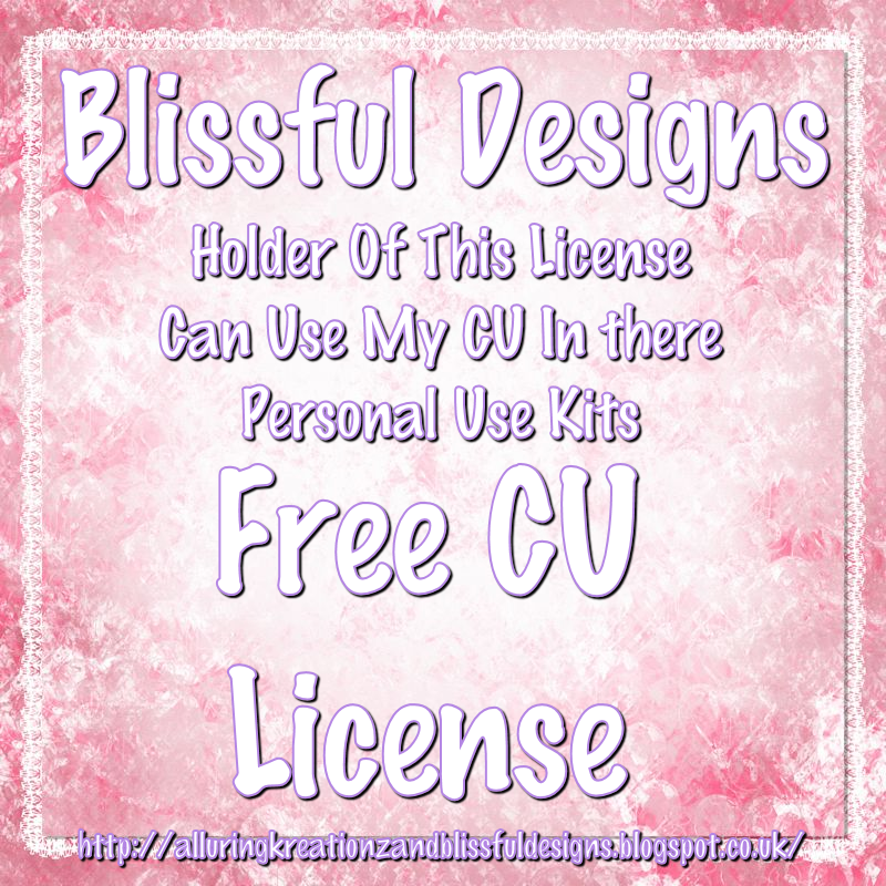 Blissful Designs Free CU License