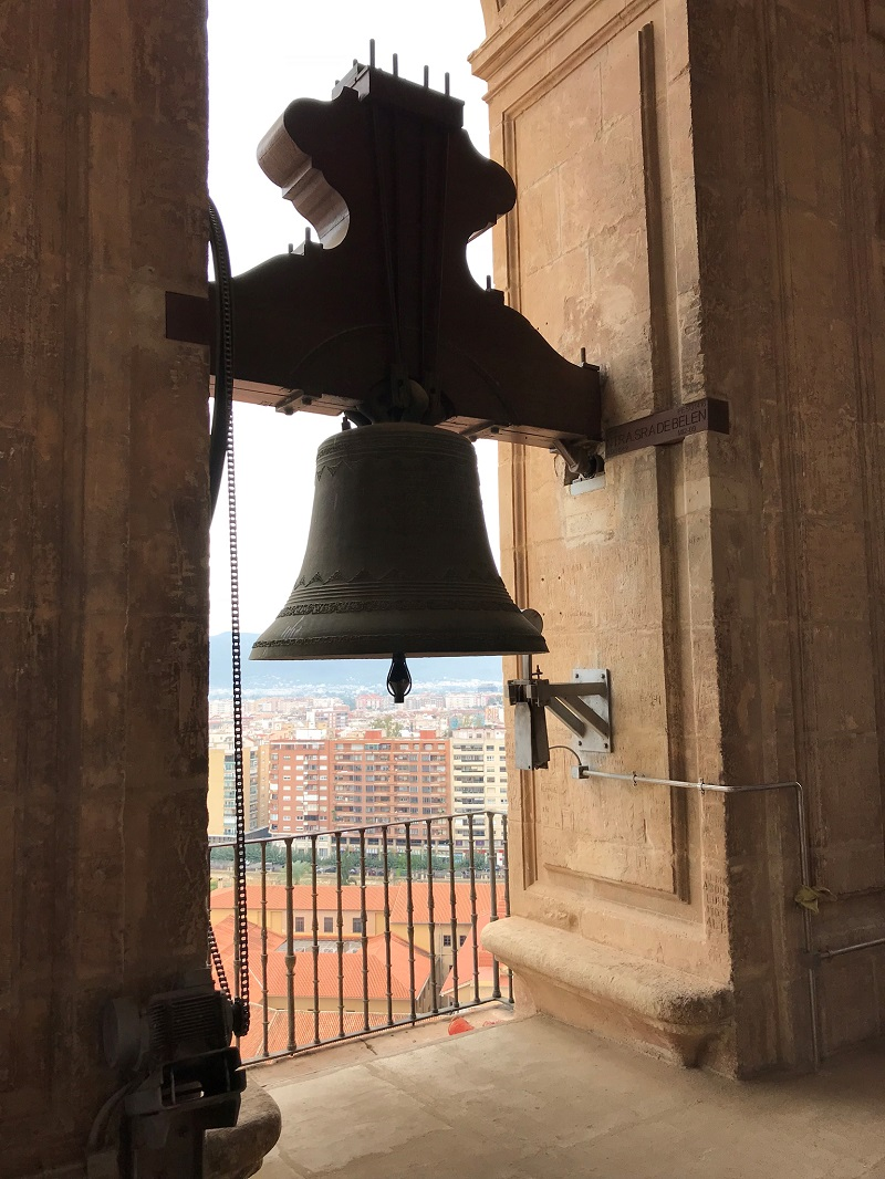 Bell tower of the cathedral of Murcia