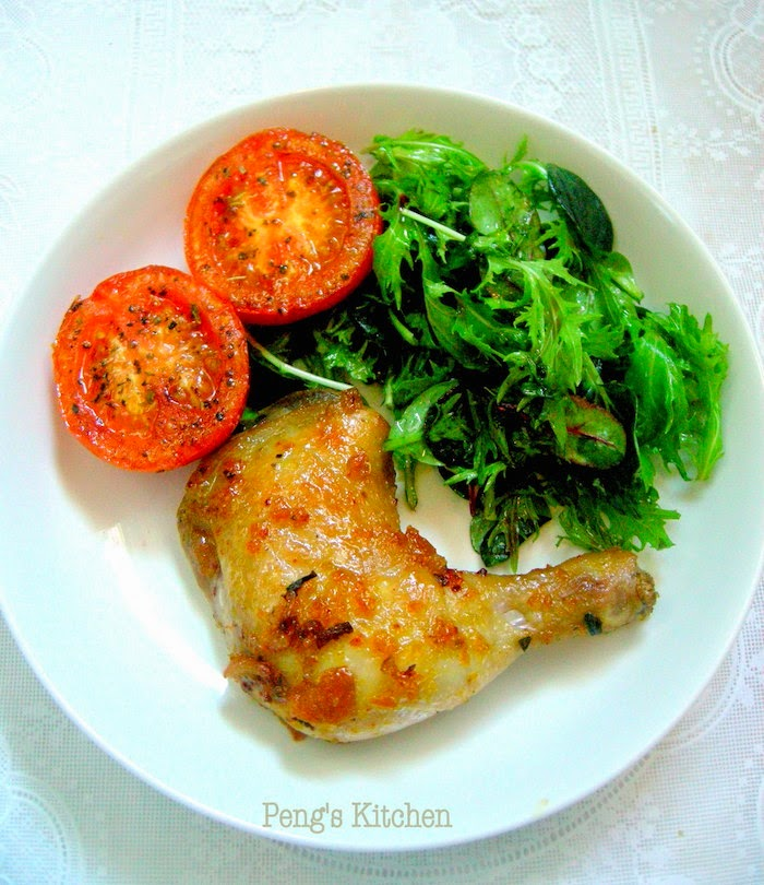 Roasted Kumquat Chicken