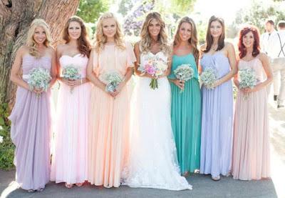 Warna Tema Perkahwinan 2016