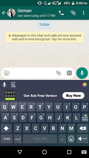 Easy Urdu Keyboard App - Convert Roman Urdu Into Simple Urdu