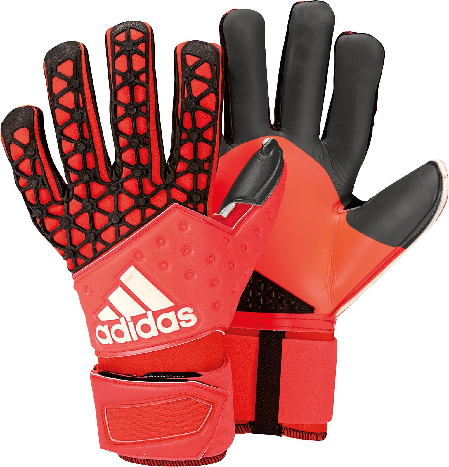 Adidas Predator Fingersave Junior Goalkeeper Gloves Youth ... |Goalkeeper Gloves Adidas 2015