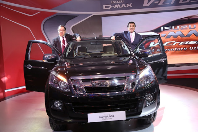 The All New Isuzu D-MAX V-Cross At India 4x4 Week 2016