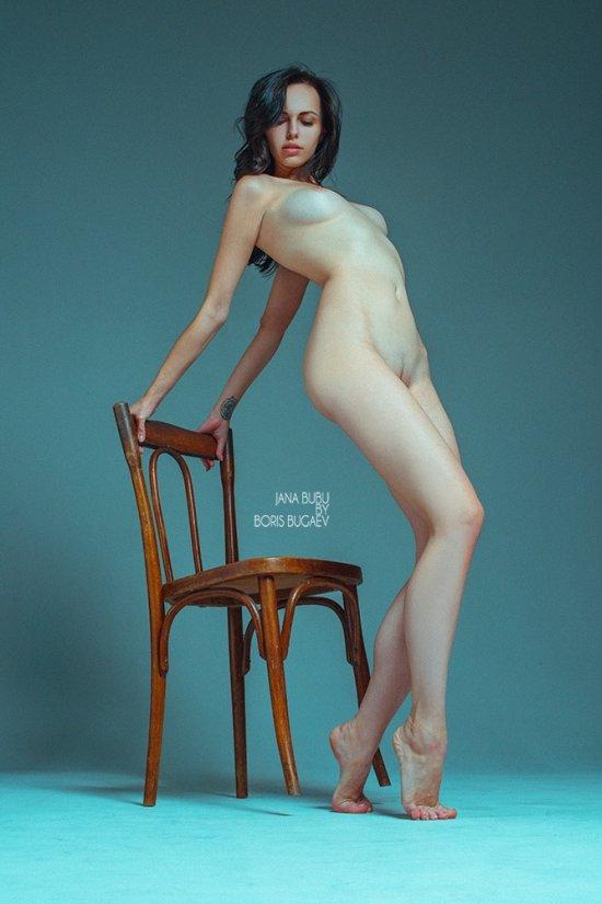 Boris Bugaev modelo Jana Bubu mulheres sensual provocante nudez nua fotografia