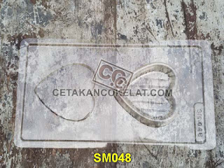 cetakan coklat cokelat SM048 SM48 SMK048 mold mould love tray chocolate #cetakancoklat