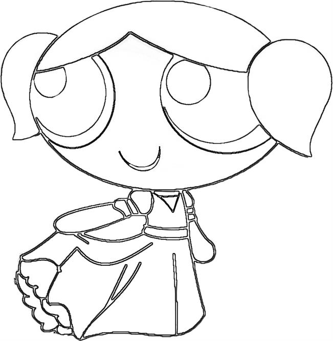 Powerpuff Girls Coloring Pages - Free Printable Pictures -3770