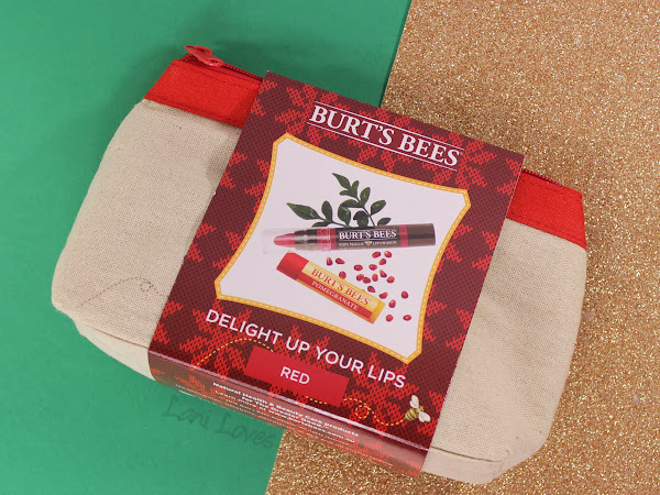 Burt's Bees Delight Up Your Lips Red Set Swatches & Review