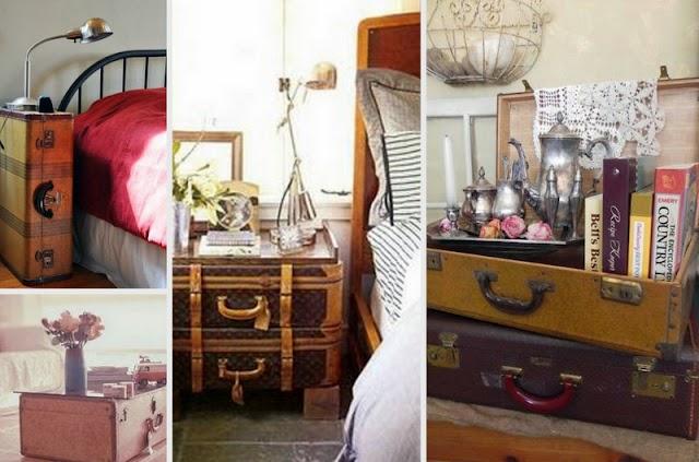 50+  Διακοσμήσεις με παλιές Βαλίτσες